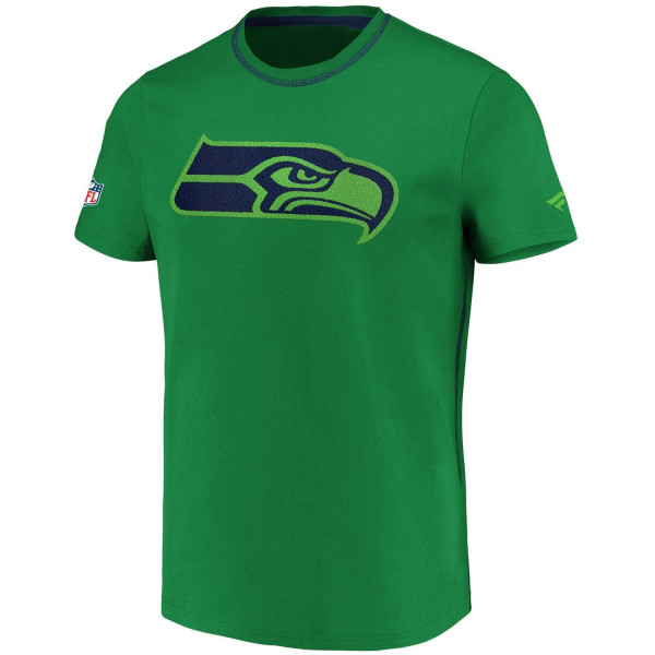 Seattle Seahawks Carnival Frottee Logo NFL T-Shirt