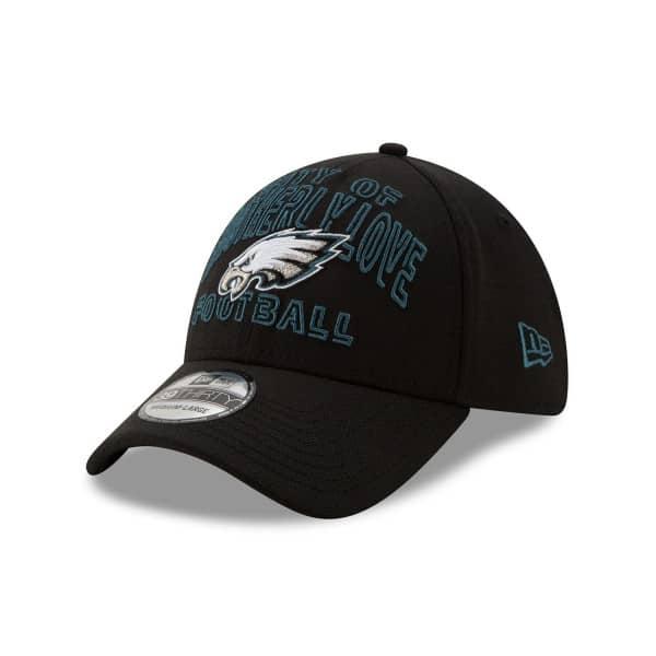 Philadelphia Eagles 2020 NFL Draft New Era 39THIRTY Flex Fit Cap Alternate