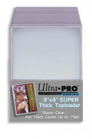 "Ultra Pro Toploader 3 x 4"" Thick Cards - 75pt"