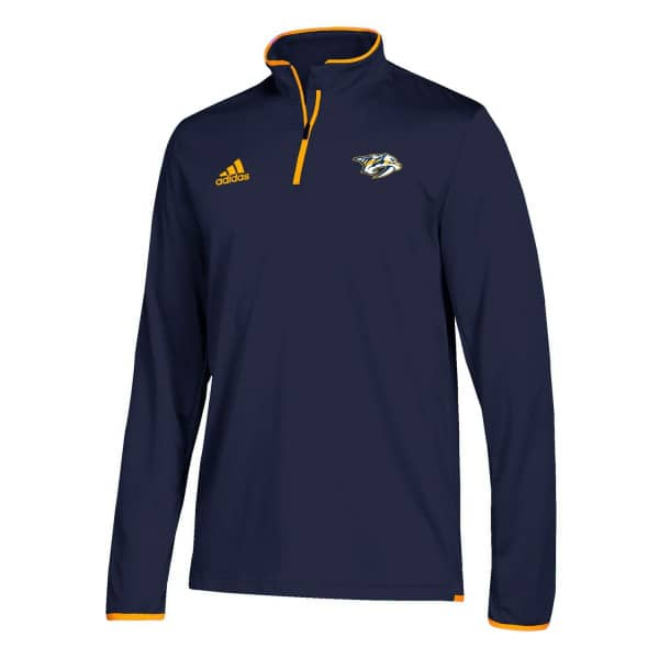 Nashville Predators Authentic 1/4 Zip NHL Jacke