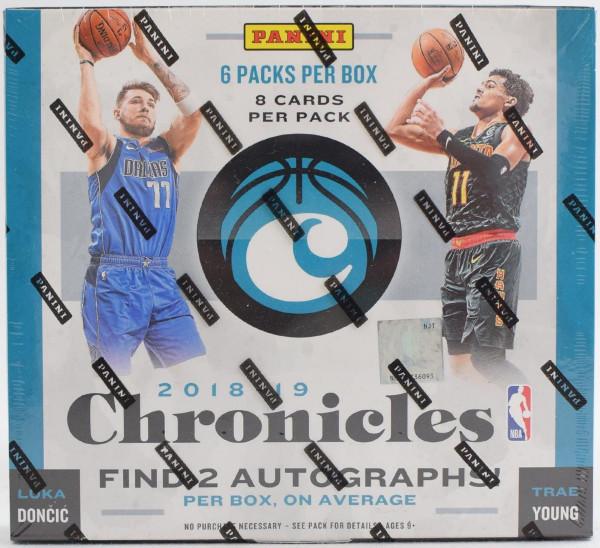 2018/19 Panini Chronicles Basketball Hobby Box NBA