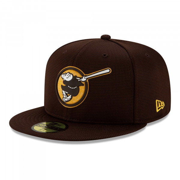 San Diego Padres 2021 MLB Authentic Clubhouse New Era 59FIFTY Fitted Cap