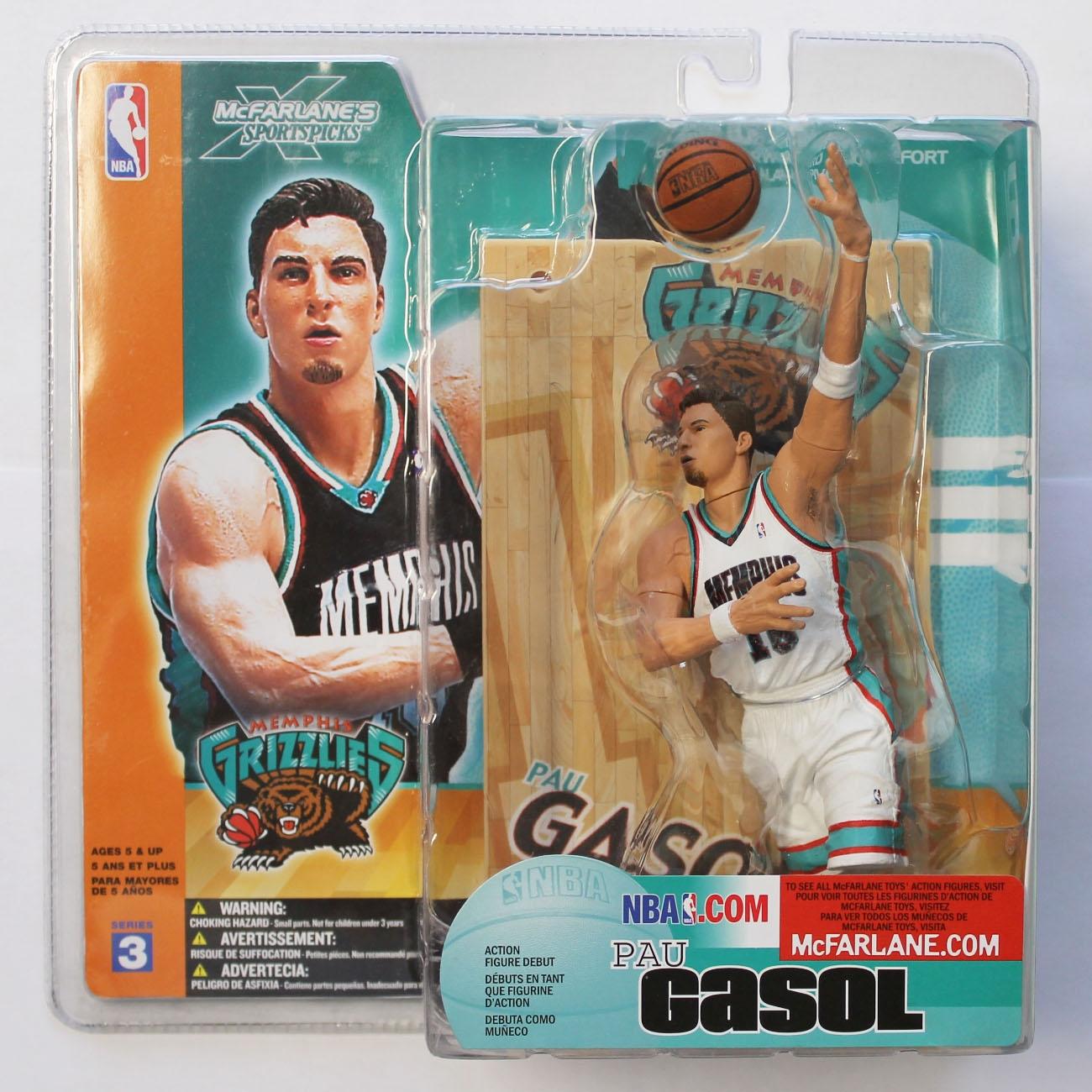 the latest 93693 2c150 McFarlane NBA Series 3 Pau Gasol Memphis Grizzlies Variant Chase   TAASS.com  Fanshop