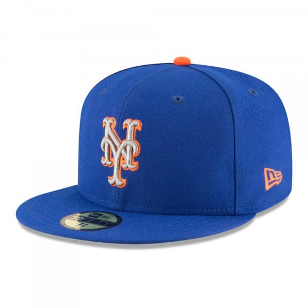 new styles 89dc2 dc56a New Era New York Mets Authentic 59FIFTY Fitted MLB Cap ALT2   TAASS.com Fan  Shop