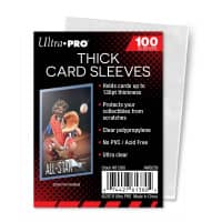 Ultra Pro Soft Card Sleeves (Thick) 130pt - 100 Stk Packung
