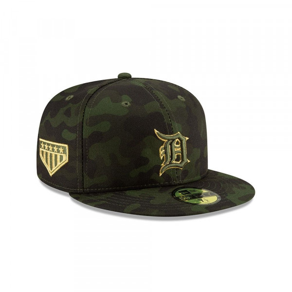 sneakers for cheap 33daa 968e2 New Era Detroit Tigers 2019 Armed Forces Day On-Field 59FIFTY Fitted MLB Cap    TAASS.com Fan Shop
