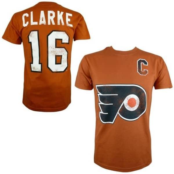 Philadelphia Flyers Bobby Clarke #16 Alumni Eishockey NHL T-Shirt
