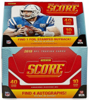 2019 Panini Score Football Hobby Box NFL
