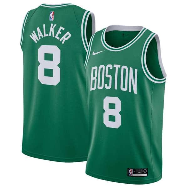 Kemba Walker #8 Boston Celtics Icon Swingman NBA Trikot Grün