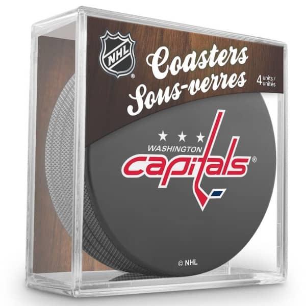 Washington Capitals NHL Eishockey Puck Untersetzer (4er Set)