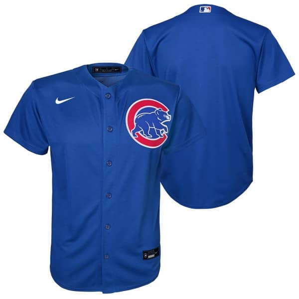 Chicago Cubs Youth MLB Replica Alternate Trikot Blau (KINDER)