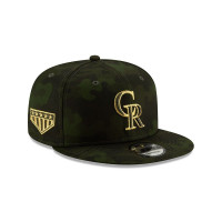 Colorado Rockies 2019 Armed Forces Day 9FIFTY Snapback MLB Cap