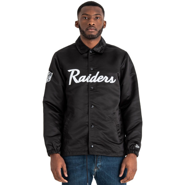 Oakland Raiders Satin Coaches NFL Jacke