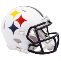 Pittsburgh Steelers AMP Alternate NFL Speed Mini Helm