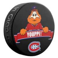 Montreal Canadiens Youppi! Mascot NHL Souvenir Puck