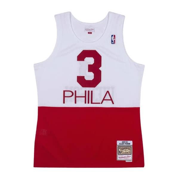 Allen Iverson #3 Philadelphia 76ers 2003-04 PHILA Mitchell & Ness Swingman NBA Trikot