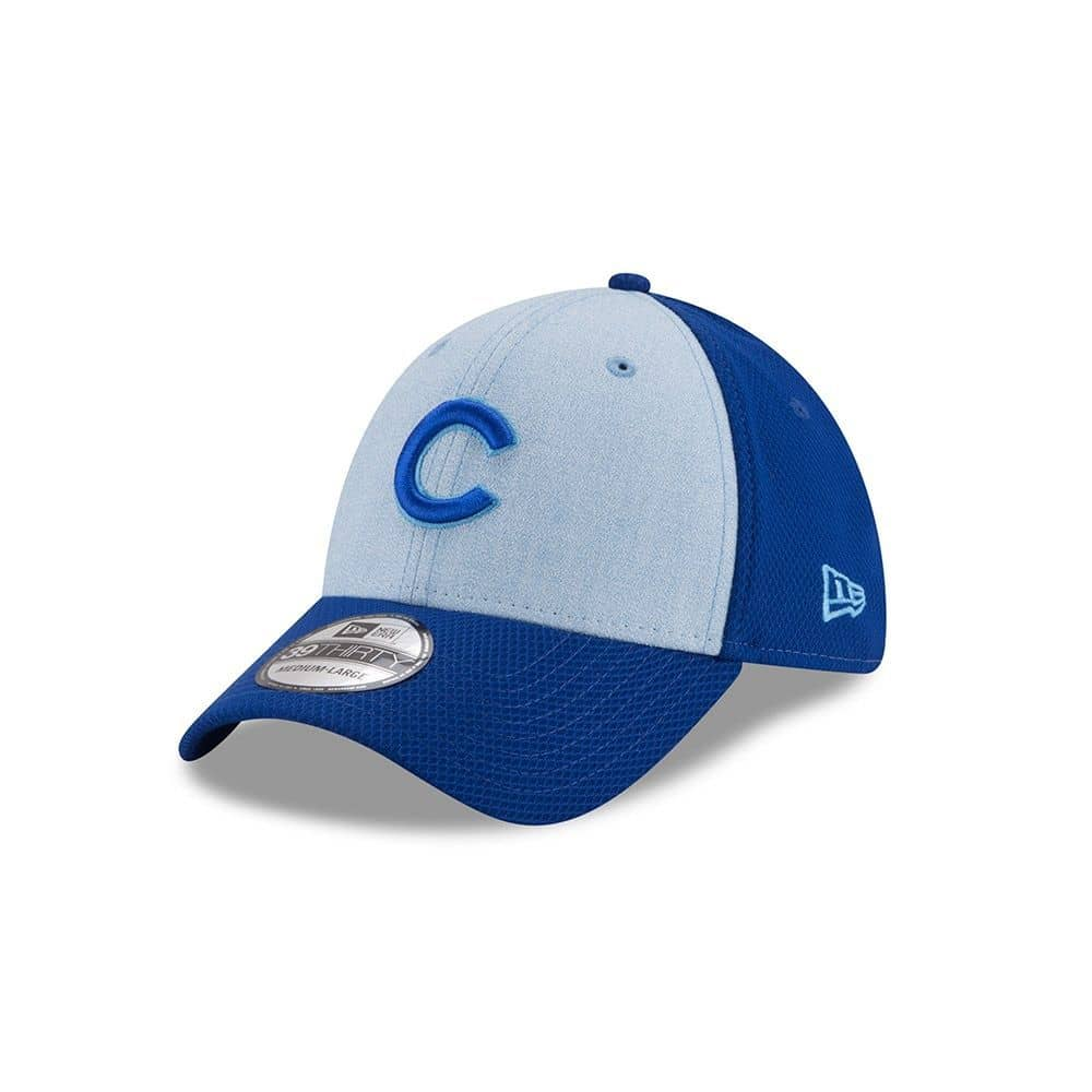 072a60d5945af New Era Chicago Cubs 2018 Father s Day 39Thirty Stretch Fit MLB Cap ...