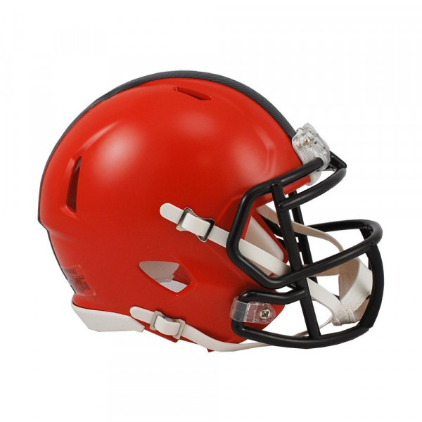 Cleveland Browns American Football NFL Speed Mini Helm