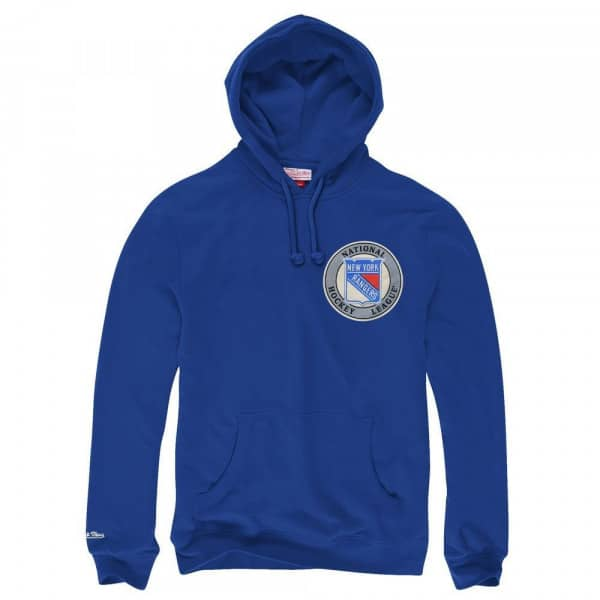 New York Rangers Goaltender NHL Sweatshirt Hoodie Blau