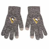 Pittsburgh Penguins Gray Knit Texting FOCO NHL Handschuhe