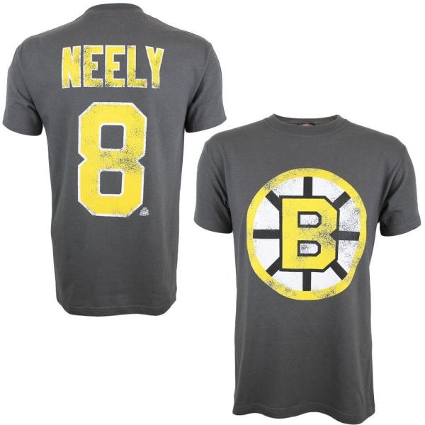 Boston Bruins Cam Neely #8 Alumni Eishockey NHL T-Shirt Charcoal