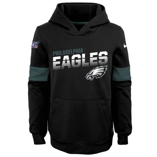 Philadelphia Eagles 2019 NFL Sideline Therma Hoodie (KINDER)