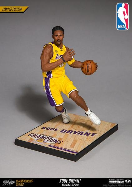 Kobe Bryant Los Angeles Lakers 2000 NBA Finals Action Figur