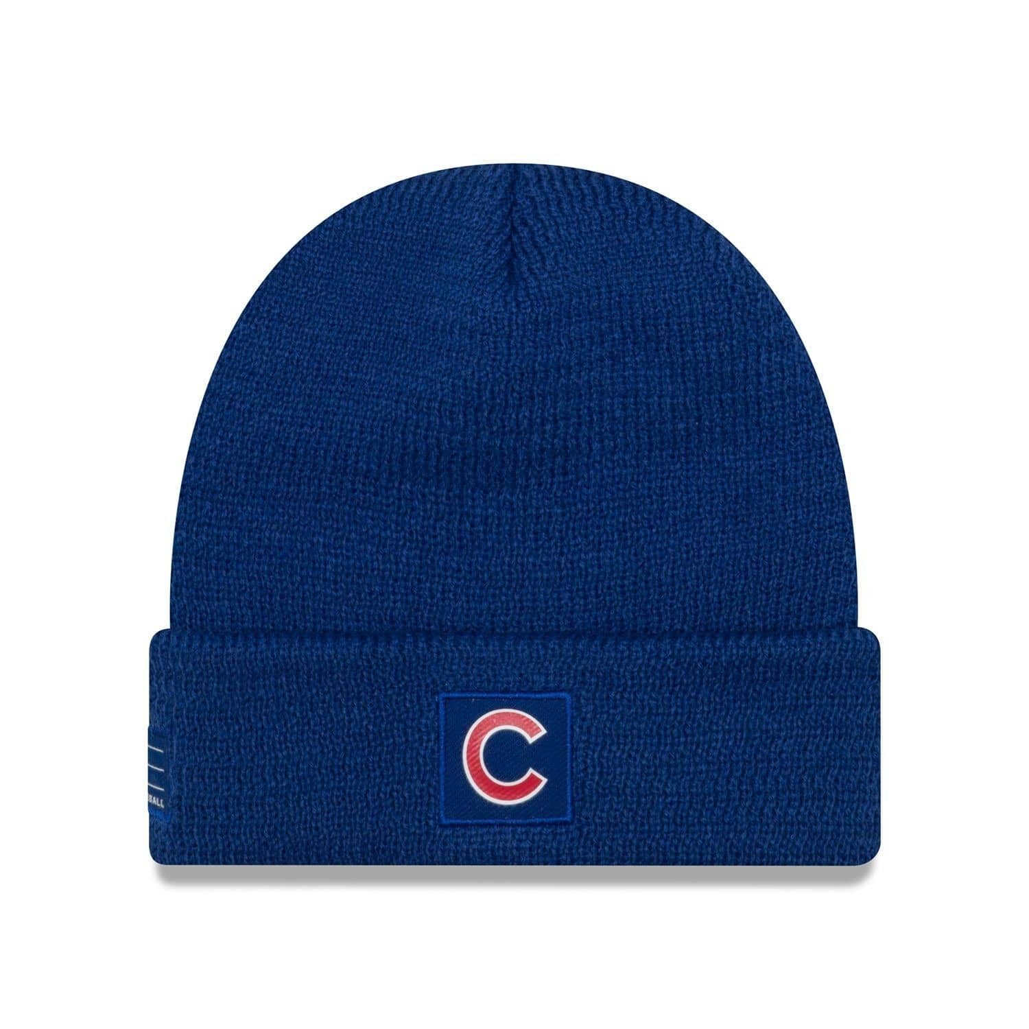 4c46716b6 Chicago Cubs 2018 On-Field Sport Knit MLB Knit Hat