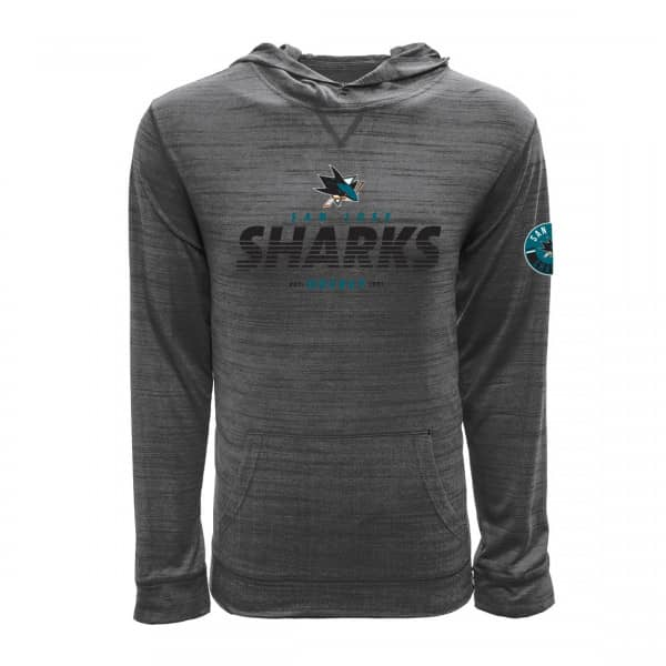 San Jose Sharks Static Hoodie NHL Sweatshirt