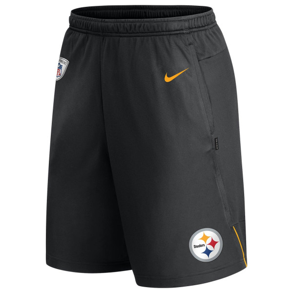 Pittsburgh Steelers Nike 2020 NFL On-Field Coach Training Shorts