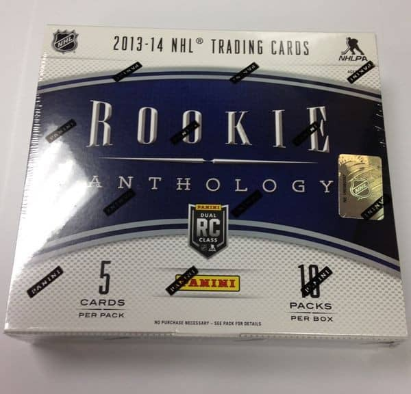 2013/14 Panini Rookie Anthology Hockey Hobby Box NHL