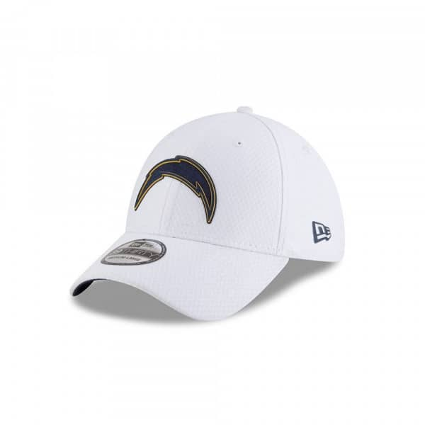 Los Angeles Chargers 2018 NFL Training 39THIRTY Flex Cap Weiß
