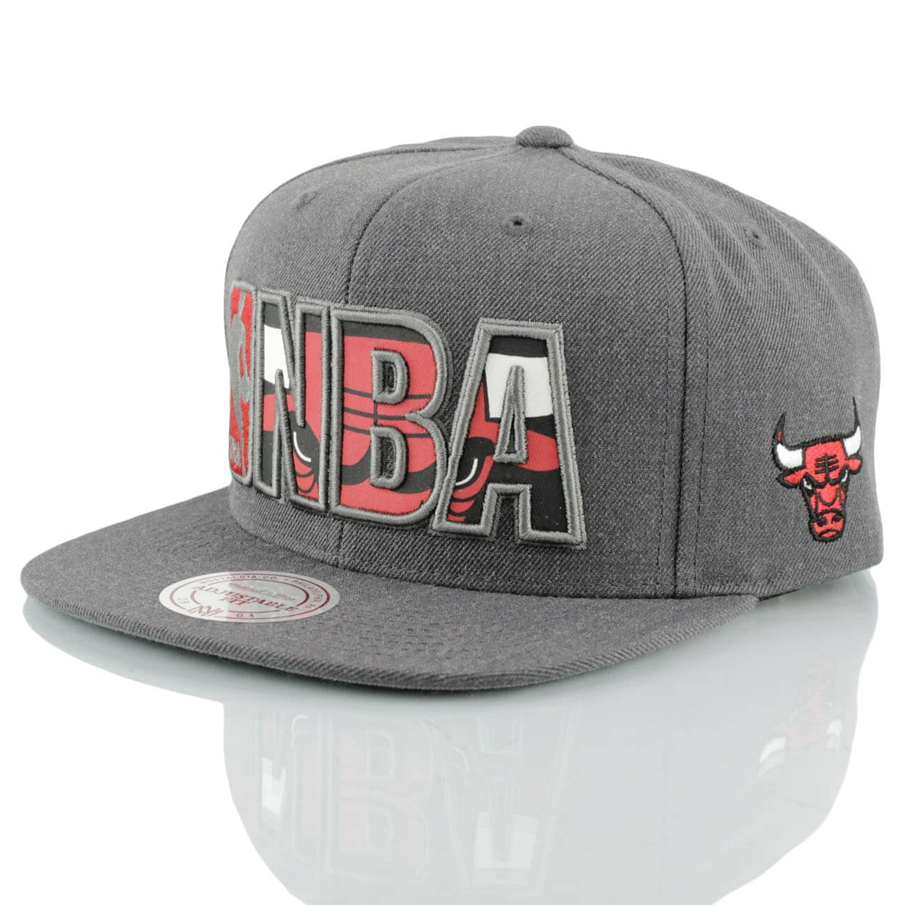 sports shoes c0d07 3c885 Mitchell   Ness Chicago Bulls Insider Reflective Snapback NBA Cap    TAASS.com Fan Shop