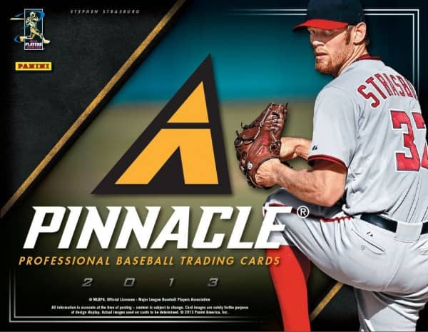 2013 Panini Pinnacle Baseball Hobby Box MLB