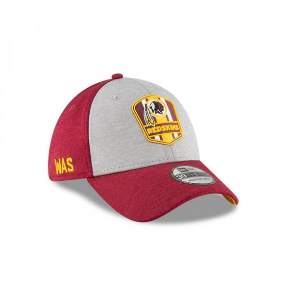 3aa6b20dbf4ea New Era Washington Redskins 2018 NFL Sideline 39THIRTY Flex Cap Road ...