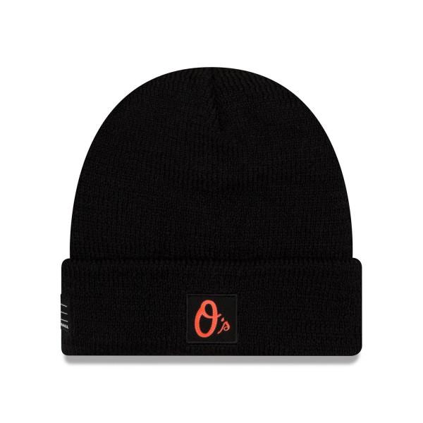 Baltimore Orioles 2018 On-Field Sport Knit MLB Wintermütze