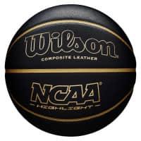 NCAA Wilson Highlight Basketball Schwarz (Size 7)