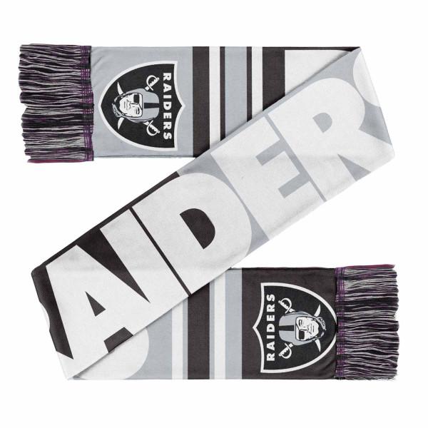 Las Vegas Raiders Colorblock Big Logo NFL Schal