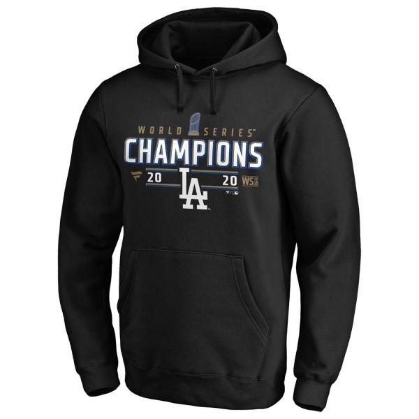 Los Angeles Dodgers 2020 World Series Champions Locker Room Fanatics MLB Hoodie