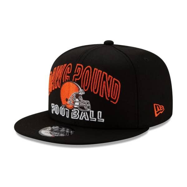 Cleveland Browns 2020 NFL Draft New Era 9FIFTY Snapback Cap Alternate