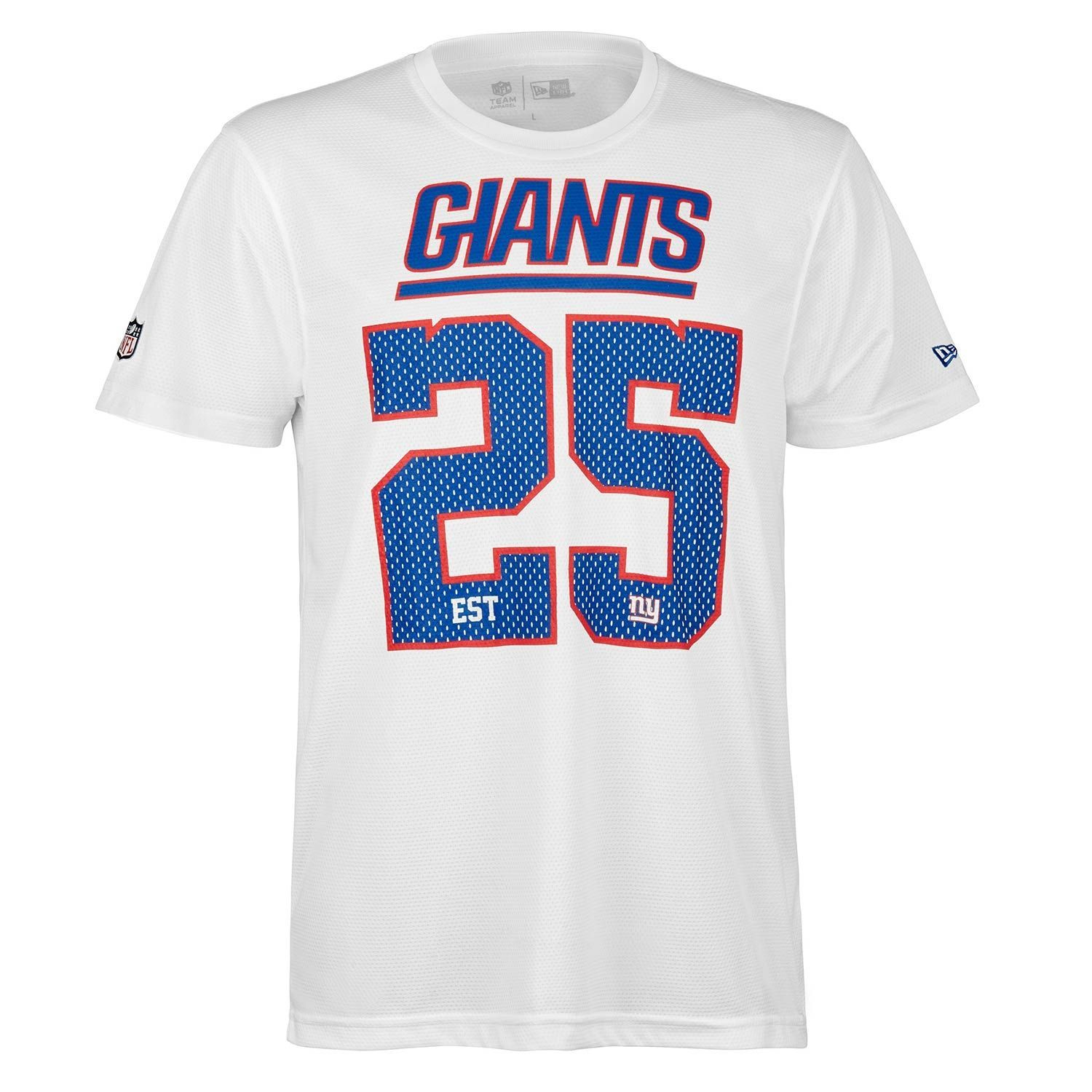 e10e3075 New York Giants Est. 25 Supporters Jersey NFL T-Shirt
