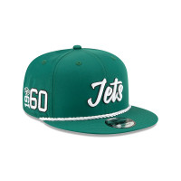New York Jets 2019 NFL On-Field Sideline 9FIFTY Snapback Cap Home