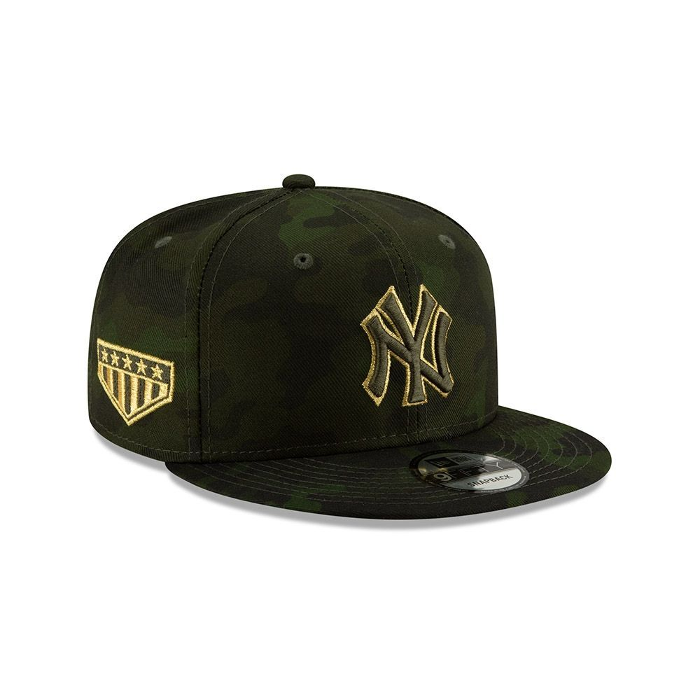 low priced 492dc 73b07 New Era New York Yankees 2019 Armed Forces Day 9FIFTY Snapback MLB Cap    TAASS.com Fan Shop