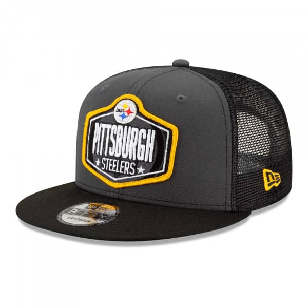 Pittsburgh Steelers Official 2021 NFL Draft New Era 9FIFTY Snapback Cap