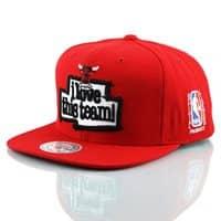 Chicago Bulls I Love This Team Snapback NBA Cap