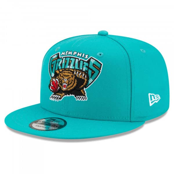 Memphis Grizzlies 2021 NBA Hardwood Classic Nights New Era 9FIFTY Snapback Cap