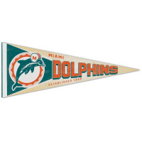 Miami Dolphins Premium Throwback NFL Wimpel