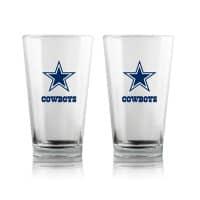 Dallas Cowboys Highball NFL Pint Glas Set (2 Stk.)