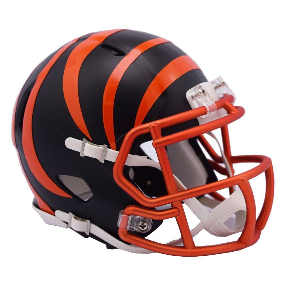 0489bf6256a Riddell Cincinnati Bengals NFL Blaze Alternate Speed Mini Helmet ...