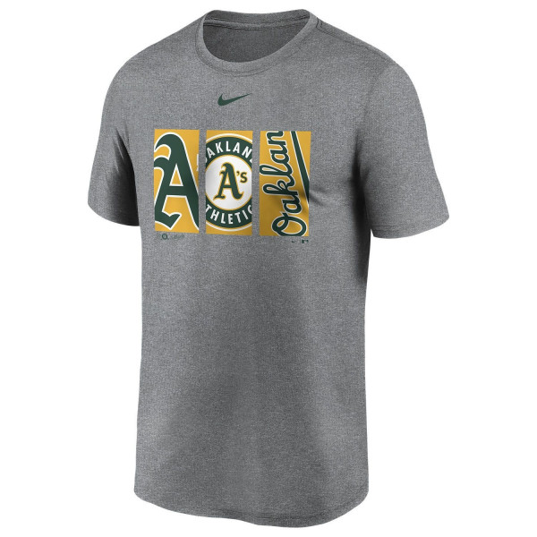 Oakland Athletics Triptych Nike Legend MLB T-Shirt